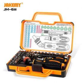 Jakemy Obeng Set 69 in 1 DIY Screwdriver Tool Set - JM-6111