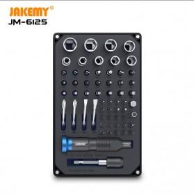 Jakemy 60 in 1 Obeng Set Portable DIY High-End Screwdriver Tool Set - JM-6125