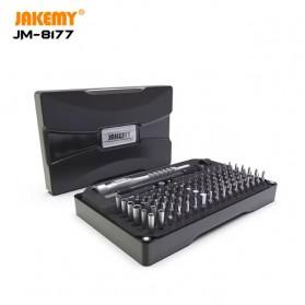 Jakemy 106 in 1 Obeng Set Portable DIY High-End Screwdriver Tool Set - JM-8177 - 3