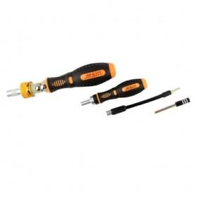 Jakemy 69 in 1 Portable Metal Toolbox and Drop Ratchet Screwdriver Set - JM-6111 - 3