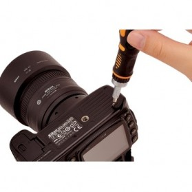 Jakemy 69 in 1 Portable Metal Toolbox and Drop Ratchet Screwdriver Set - JM-6111 - 5