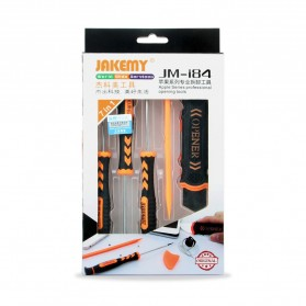 Jakemy 7 in 1 Professional Opening Tools Kit for iPhone / Laptop / PC - JM-I84 - Black - 2