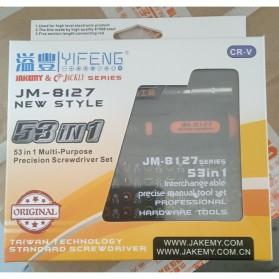 Jakemy 53 in 1 Precision Screwdriver Repair Tool Kit - JM-8127 - 5