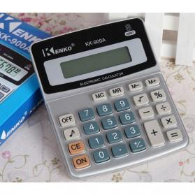 Kenko Kalkulator Elektronik Office Calculator - KK-900A - Black/Silver - 2