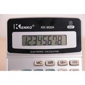 Kenko Kalkulator Elektronik Office Calculator - KK-900A - Black/Silver - 3