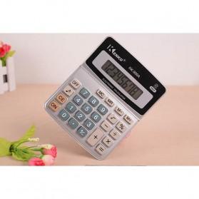 Kenko Kalkulator Elektronik Office Calculator - KK-900A - Black/Silver - 5
