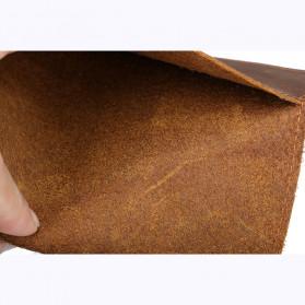 BUBM Dompet Kartu Anti RFID Slim Bahan Kulit - FM-103 - Brown - 5