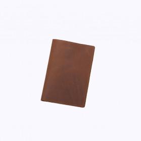 BUBM Dompet Kartu Anti RFID Slim Bahan Kulit - FM-103 - Brown - 6