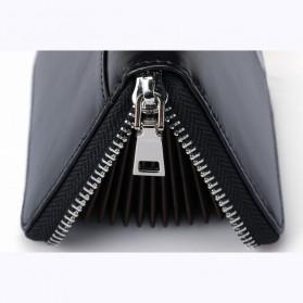 BUBM Dompet Kartu Anti RFID Bahan Kulit - YP-207 - Black - 8