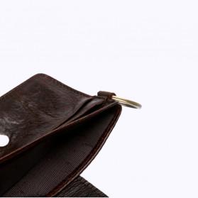 BUBM Dompet Kartu Anti RFID Bahan Kulit - D3022 - Black - 5