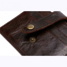 BUBM Dompet Kartu Anti RFID Bahan Kulit - D3022 - Black - 7