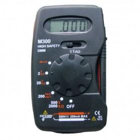 Pocket-Size Digital Multimeter - M300 - Black