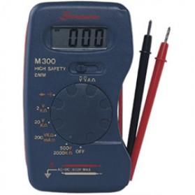 Pocket-Size Digital Multimeter - M300 - Black - 2