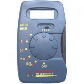 Pocket-Size Digital Multimeter - M300 - Black - 3