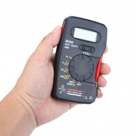 Pocket-Size Digital Multimeter - M300 - Black - 4