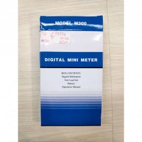 Pocket-Size Digital Multimeter - M300 - Black - 5