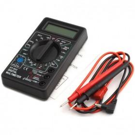 Pocket Size Digital Multimeter - DT832 - Black - 2
