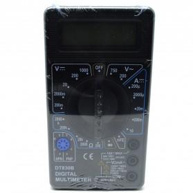 Pocket Size Digital Multimeter - DT832 - Black - 3