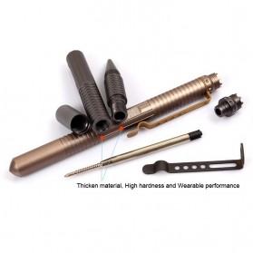 Defensive Security Tactical Pen Glass Breaker - B1 - Black - 6