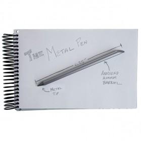 The Inkless Metal Pen / Pena Besi - 0067 - Black - 5