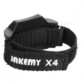Jakemy JM-X4 Permanent Magnetic Wristband Bracelet Adsorption Tools for Small Parts - Black - 7