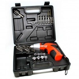 Taffware Cordless Multi-function Electric Screwdriver Set 4.8V 45 PCS - S019
