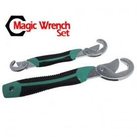 Multifunction Magic Wrench / Kunci Pas - Green/Black