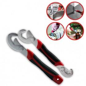 JINGDA Multifunction Magic Wrench / Kunci Pas - JJ89381 - Black/Red - 3