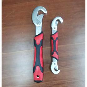 JINGDA Multifunction Magic Wrench / Kunci Pas - JJ89381 - Black/Red - 7