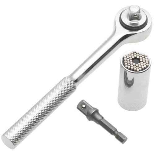 ... Gator Grip Universal Socket Bolt Set - ETC-200 / Kunci Pas - Silver ...