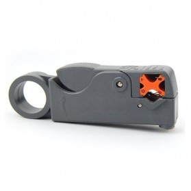 Rotary Coaxial Cable Stripper Cutter - RG58 - Gray - 5