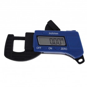 Carbon Fiber Composites Digital Thickness Caliper Micrometer Guage - OOTDTY - Blue - 1