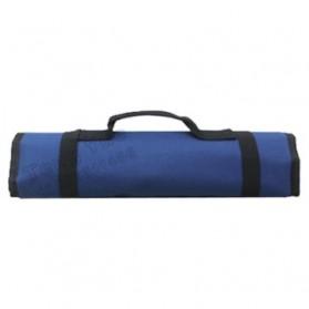 Customized Leather Craft 32 Socket Tool Roll Bag / Tas Perlengkapan - VMW1 - Blue - 3