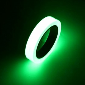 YIKAA Lakban Glow In The Dark Luminous Adhesive Tape 1.5 cm x 10 m - A0015 - Multi-Color - 1