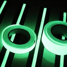 YIKAA Lakban Glow In The Dark Luminous Adhesive Tape 1.5 cm x 10 m - A0015 - Multi-Color - 2