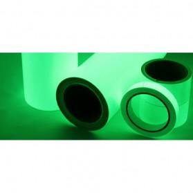 YIKAA Lakban Glow In The Dark Luminous Adhesive Tape 1.5 cm x 10 m - A0015 - Multi-Color - 5