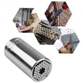 SAIKE Kepala Gator Grip Universal Socket Bolt Only 7-19mm - ETC-125MO - Silver - 2