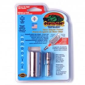 Kepala Kunci Pas Gator Grip Universal Socket - ETC-120 (Bolt Only) - Silver - 3