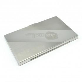Kotak Kartu Nama Aluminium Model Jakmall.com - Silver - 3