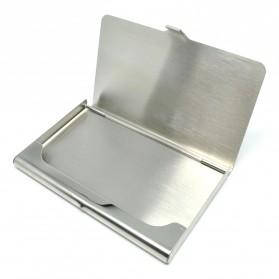 Kotak Kartu Nama Aluminium Model Jakmall.com - Silver - 4