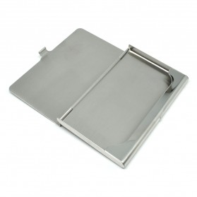 Kotak Kartu Nama Aluminium Model Jakmall.com - Silver - 6