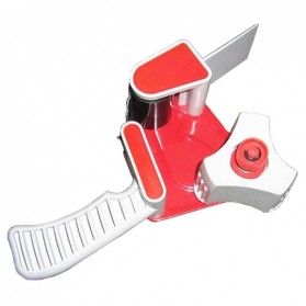 Dispenser Lakban Tape Gun With Handle - Red/White