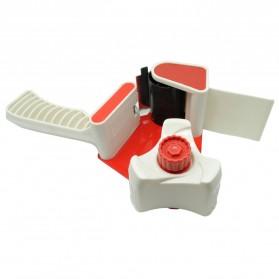 Dispenser Lakban Tape Gun With Handle - Red/White - 2