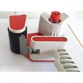 Dispenser Lakban Tape Gun With Handle - Red/White - 4