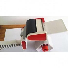 Dispenser Lakban Tape Gun With Handle - Red/White - 5