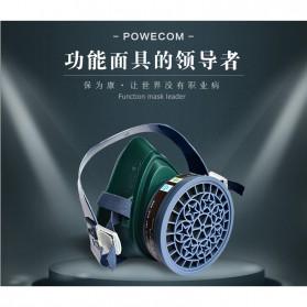 POWECOM Masker Gas Respirator - N8303 - Green - 3