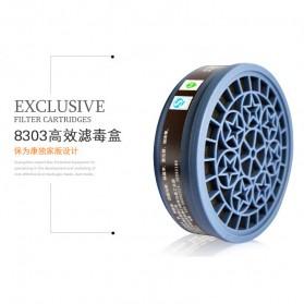 POWECOM Masker Gas Respirator - N8303 - Green - 4