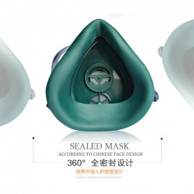 POWECOM Masker Gas Respirator - N8303 - Green - 5