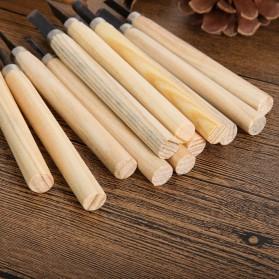 TOOKIE Set Pisau Ukir Pahat Kayu 12 in 1 Wood Carving Art Knife - KSJ-12 - 5