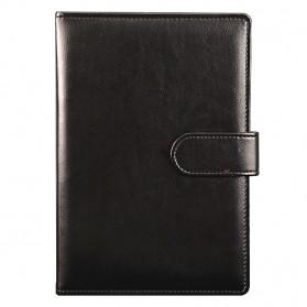 Buku Catatan Binder Note Premium Profesional A5 Paper - Black